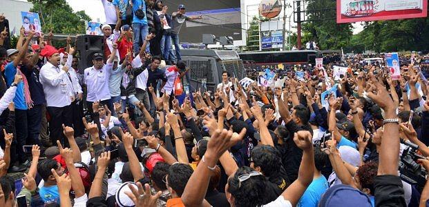 """PACU Totalitas Memacu Kemenangan Bersama """"Appi-Cicu"""" Di Makassar"""