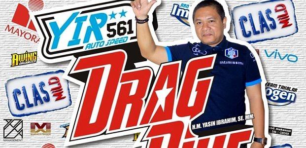 Besok, Drag Bike YIR 561 Digelar Hadirkan Pembalap Lokal Dan Nasional