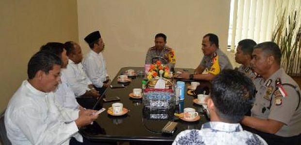Rektor Unismuh Berkunjung Ke Mapolrestabes Makassar, Bangun Sinergitas