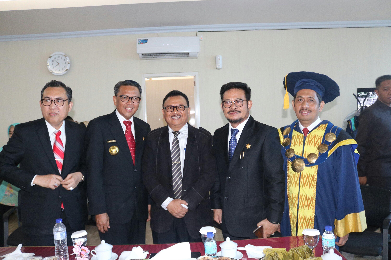 Wisuda Unismuh ke-66, Prof Jasruddin Sebut Pertemuan Dua Tokoh Pertanda Baik